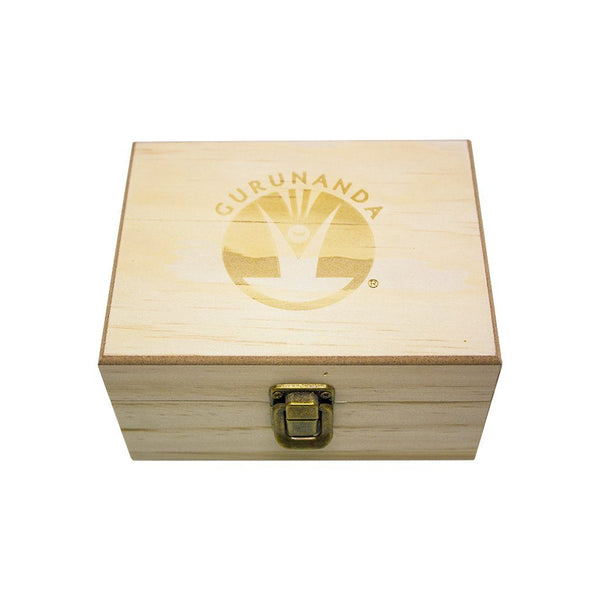 Wooden Storage Box - 12 Slots For Essential Oils