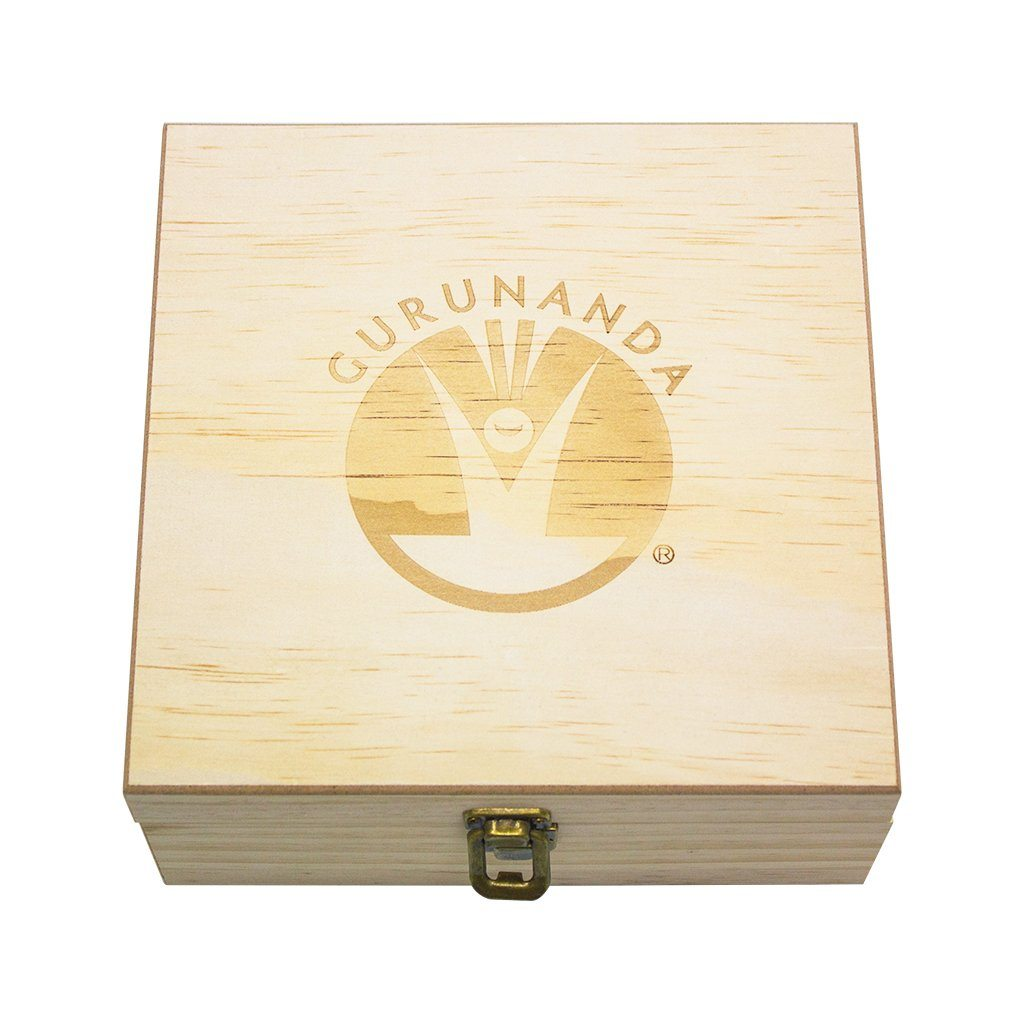 Wooden Storage Box - 36 Slots For Essential Oils - GuruNanda