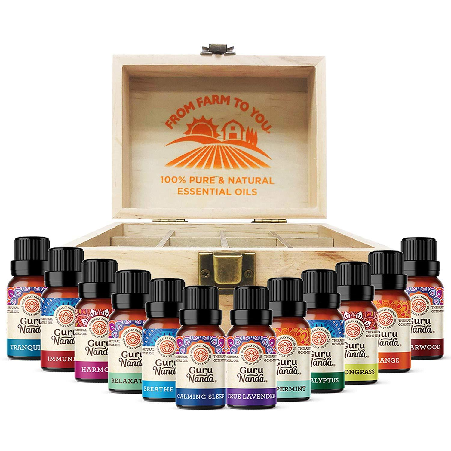 Top 12 Essential Oil Set