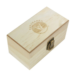 Wooden Storage Box - 8 Slots For Essential Oils - GuruNanda