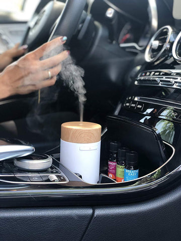 Mobile USB Car Diffuser - Ultrasonic Essential Oil Diffuser for Car