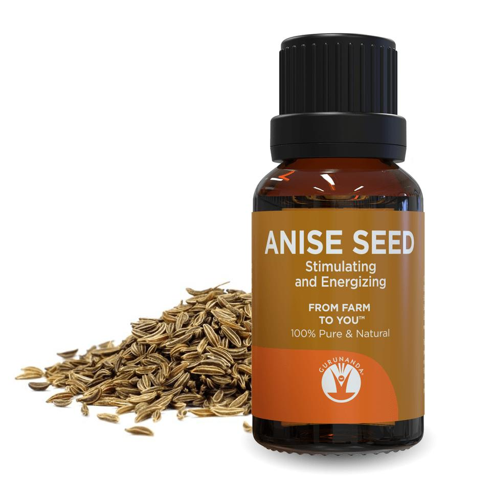 Anise seed - Essential Oil - 100% Pure and Natural from Farm to You™ - GuruNanda