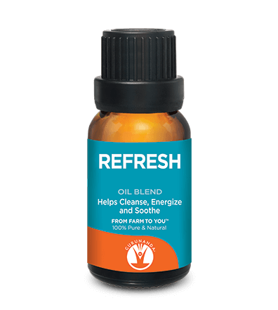 Gurunanda Refresh Essential Oil Blend