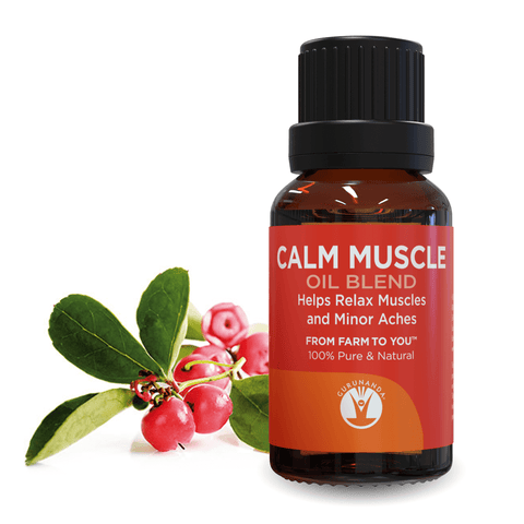 Calm Muscle - Essential Oil Blend - GuruNanda