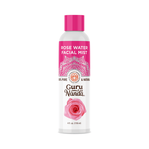 100% Pure Rose Water | GuruNanda