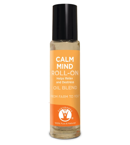 GURUNANDA Calm Mind Roll-On Essential Oil