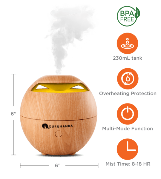 Light Globe - Ultrasonic Essential Oil Diffuser