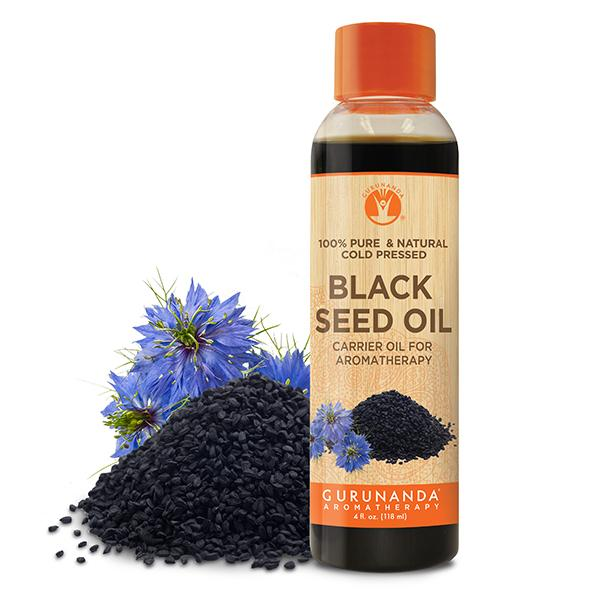 Black Seed - Carrier Oil - 100% Pure and Natural from Farm to You™ - GuruNanda