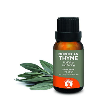 Thyme - Essential Oil - 100% Pure & Natural Therapeutic Grade - GuruNanda