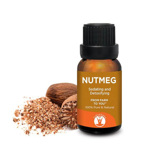 Nutmeg - Essential Oil - 100% Pure & Natural Therapeutic Grade