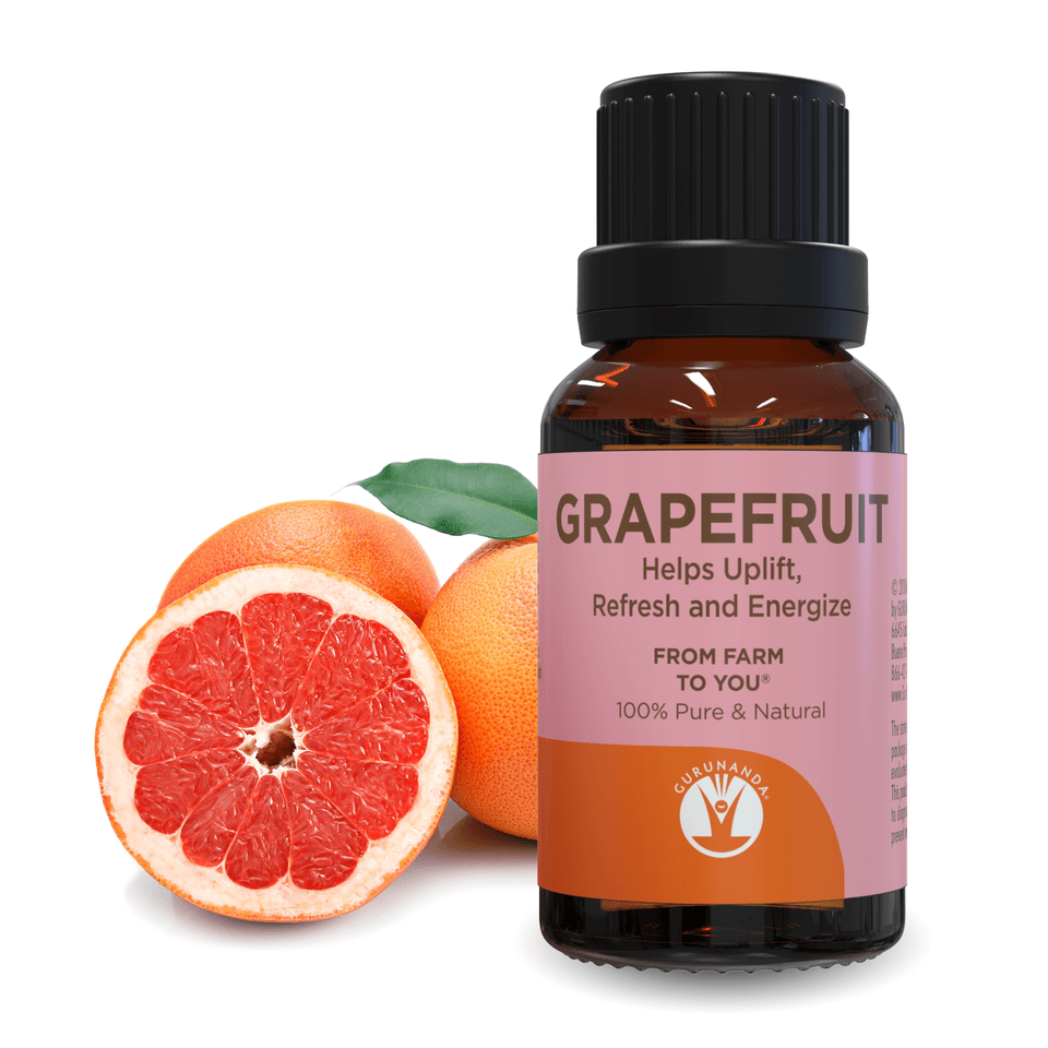 Pink Grapefruit - Essential Oil - 100% Pure & Natural - GuruNanda