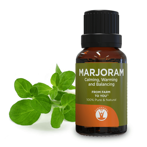 Marjoram - Essential Oil - 100% Pure & Natural Therapeutic Grade - GuruNanda