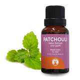 Patchouli - Essential Oil - 100% Pure & Natural Therapeutic Grade - GuruNanda