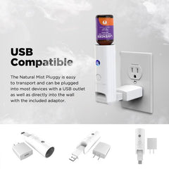 Natural Mist™ Pluggy - USB Wall Plug-In Diffuser
