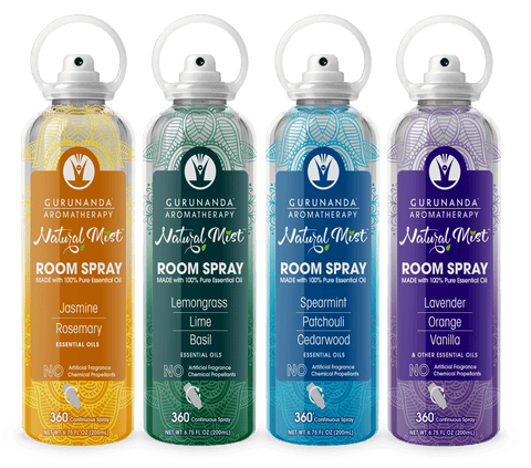 Natural Mist™ Room Spray - Four Unique Scent Blends (Mixed Pack)