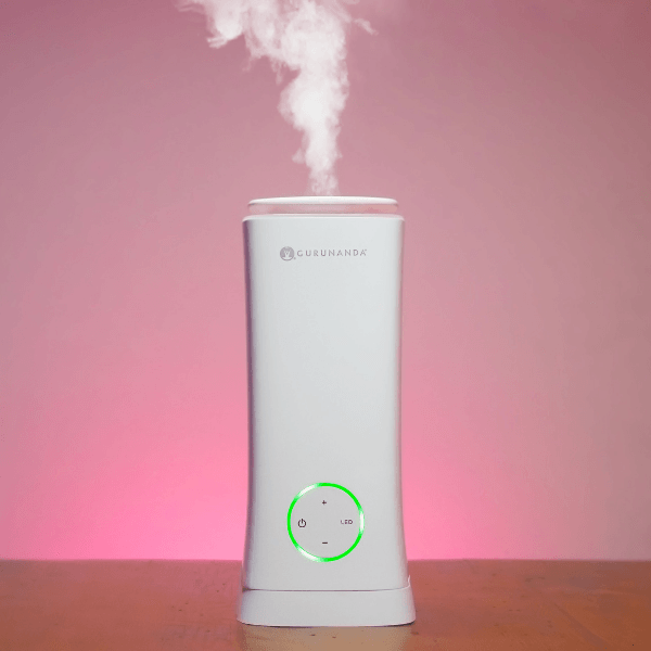 Moist Aroma -- 2 in 1 Humidifier Diffuser - White Tower XL - 2 Liter Water Capacity