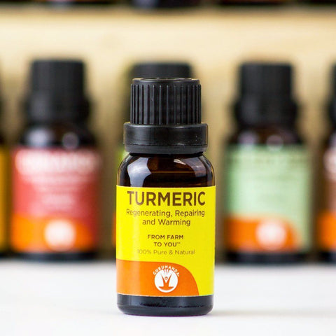 Turmeric - Essential Oil - 100% Pure & Natural Therapeutic Grade - GuruNanda