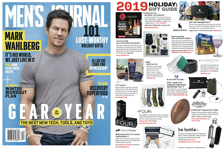 Sharkbanz named GEAR OF YEAR 2019 by Men's Journal