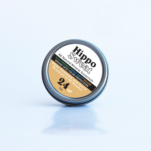 Hippo Sweat - All Natural Sunscreen - Face Paste