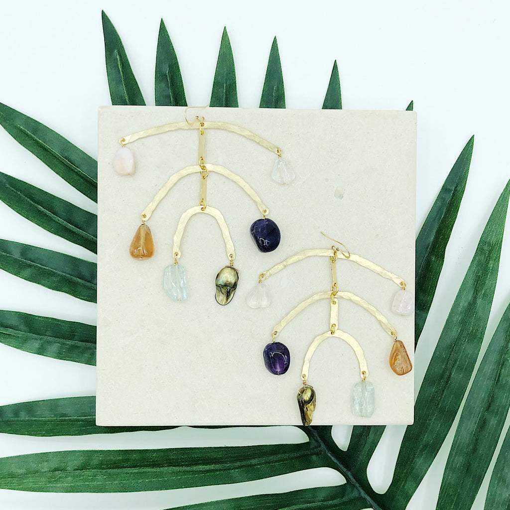 Statement Earrings Third & Co. Studio