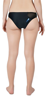 BYRON BAY AQUA BOTTOM // BLACK - Nayali - Activewear for D Cup & Up