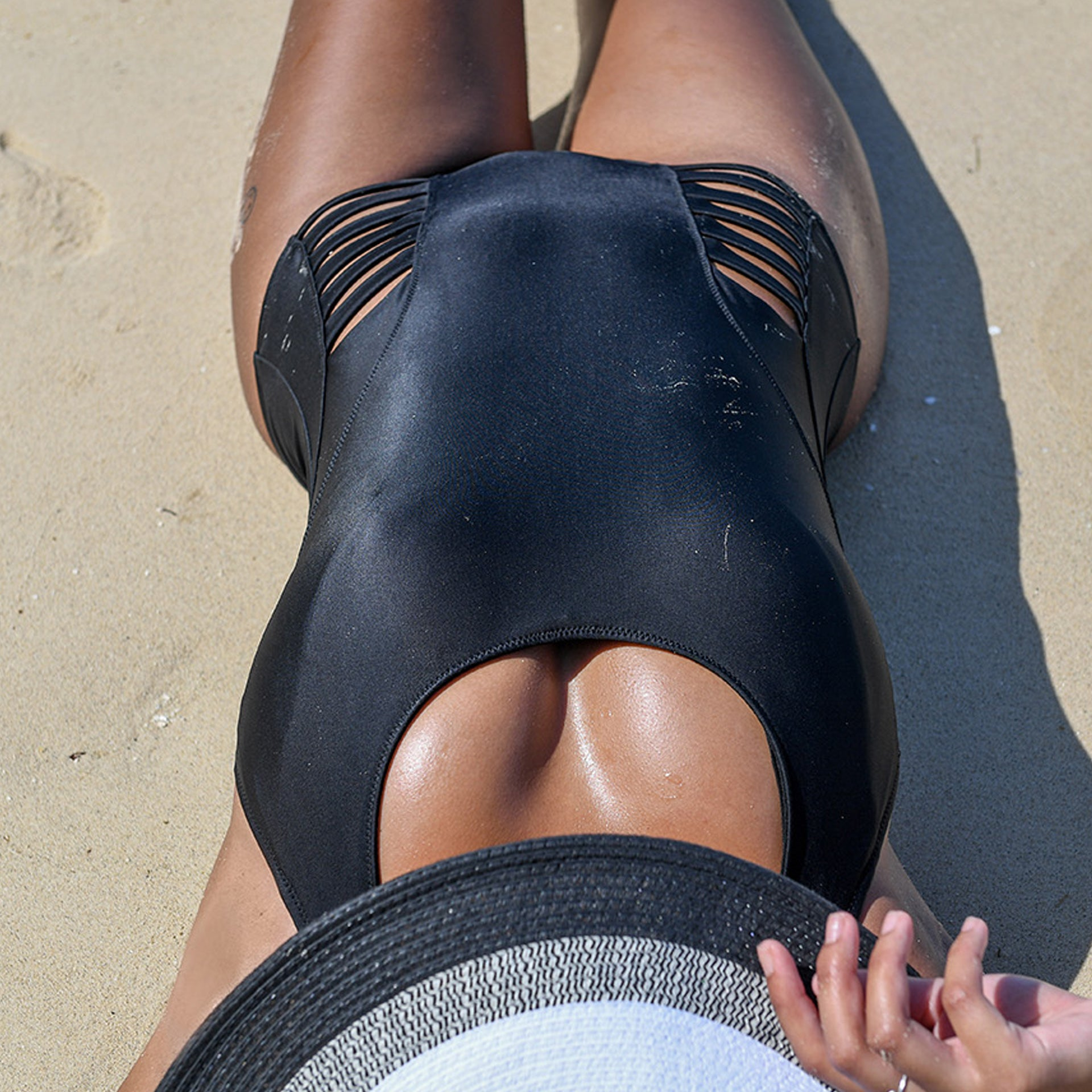 BELLS BEACH 1PC SWIMSUIT // BLACK - Nayali - Activewear for A-G Cup