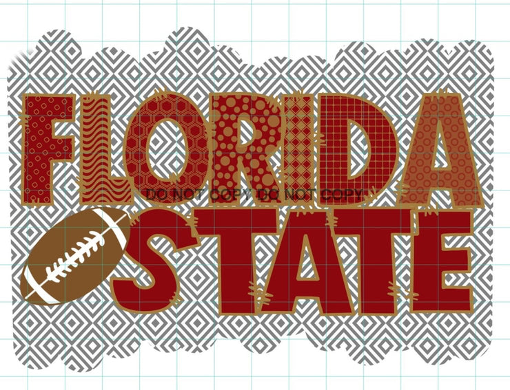 Florida State Sublimation Transfer