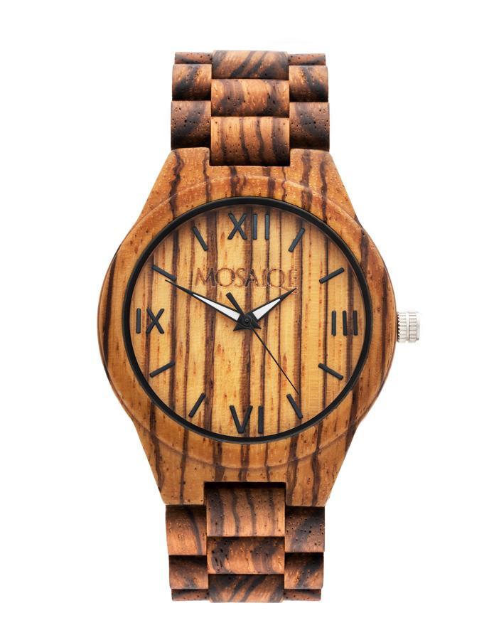 Zebra Wooden Watch Uk Vegan Gift