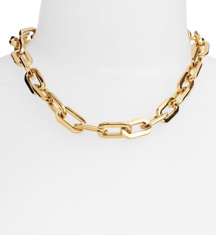 Bracha Necklaces Bracha Elle Thick Gauge Chain Necklace