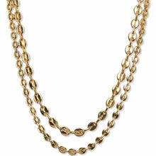 Load image into Gallery viewer, Bracha Ira Layered Mariner Chain Necklace