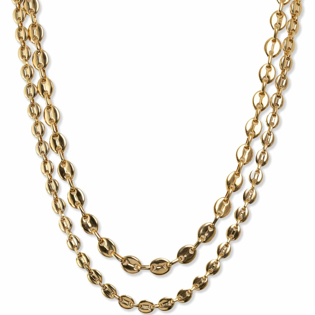 Bracha Ira Layered Mariner Chain Necklace