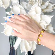 Load image into Gallery viewer, Lemon Beaded Bracelet