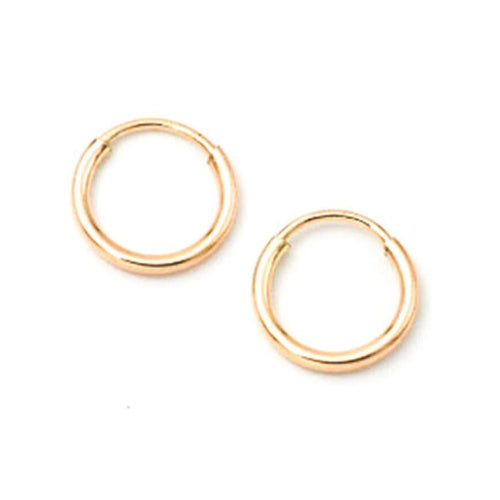 May Martin Earrings Gold Tiny Hoops