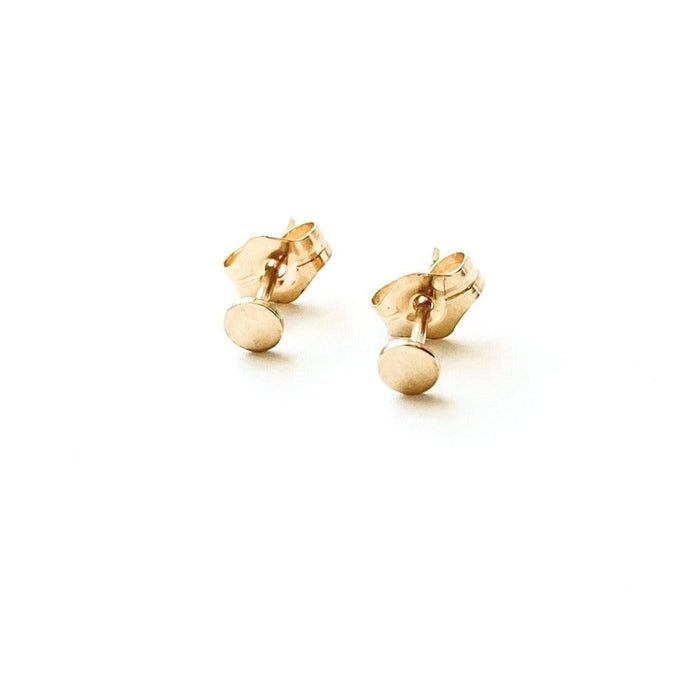 May Martin Earrings Polka Dot Stud Earrings