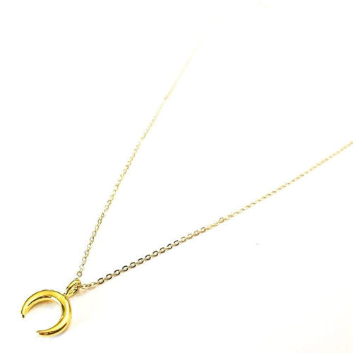 May Martin Necklaces Crescent Moon Necklace