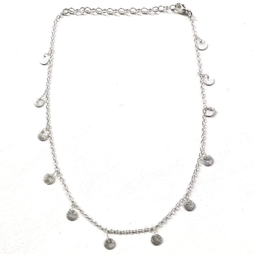Nikki Smith Designs Necklaces Silver Mini Discs Necklace