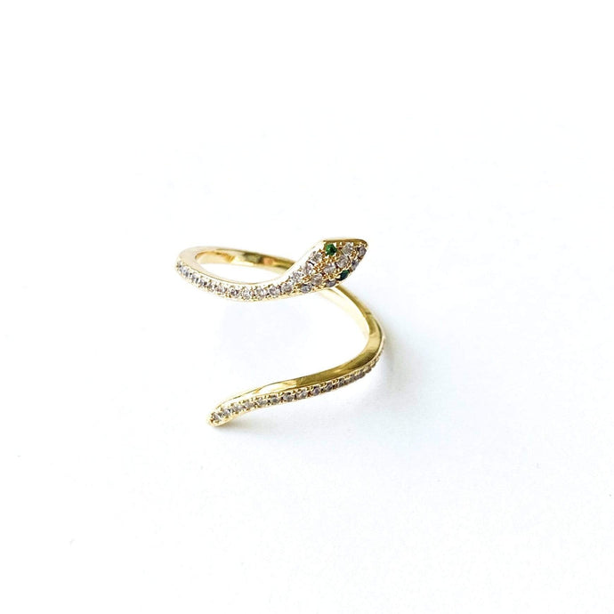 Nikki Smith Designs Rings CZ Serpent Ring