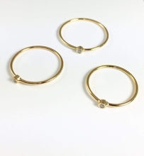 Rio Grande Rings Gold / 6 Dainty Stack Ring Bling