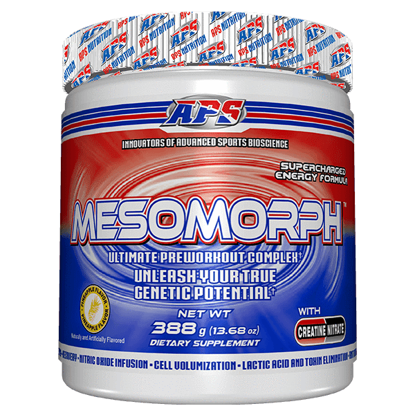 APS PRE WORKOUT 25serving / Pineapple APS Mesomorph Stong Preworkout