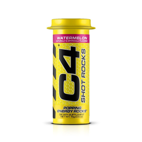 Cellucor pre C4 Shot Rocks Preworkout Energy Shots.