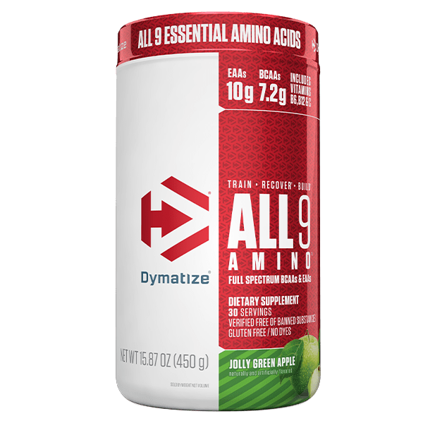 Dymatize AMINO ACIDS ALL 9 ESSENTIAL AMINO ACIDS