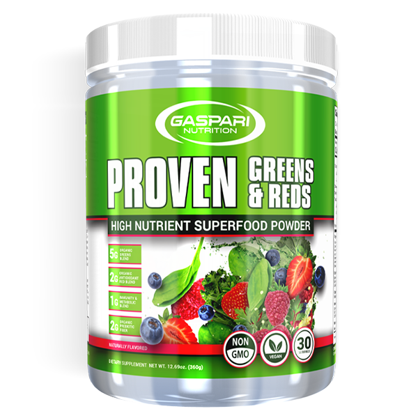 Gaspari HEALTH FOOD,SNACKS AND BARS Gaspari Proven Greens and Reds