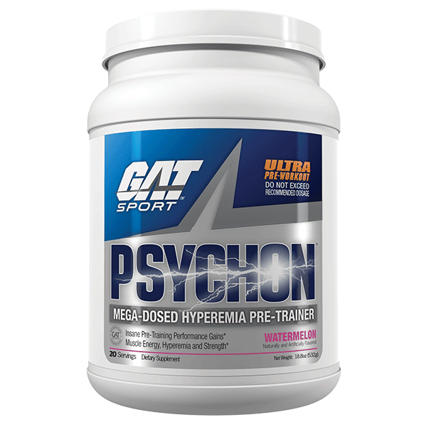 GAT PRE WORKOUT 20servings / Fruit Punch GAT Psychon Pre-Trainer Preworkout