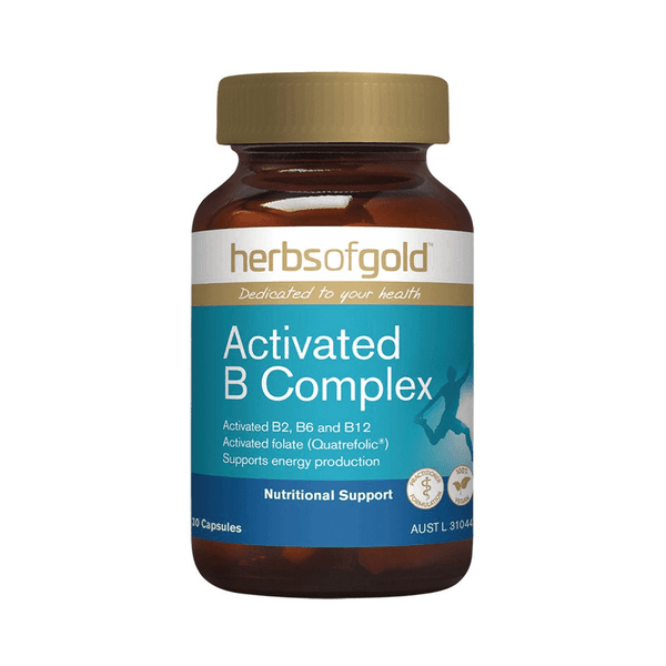 Herbs of Gold VITAMINS Herbs of Gold Activated B Complex 30C
