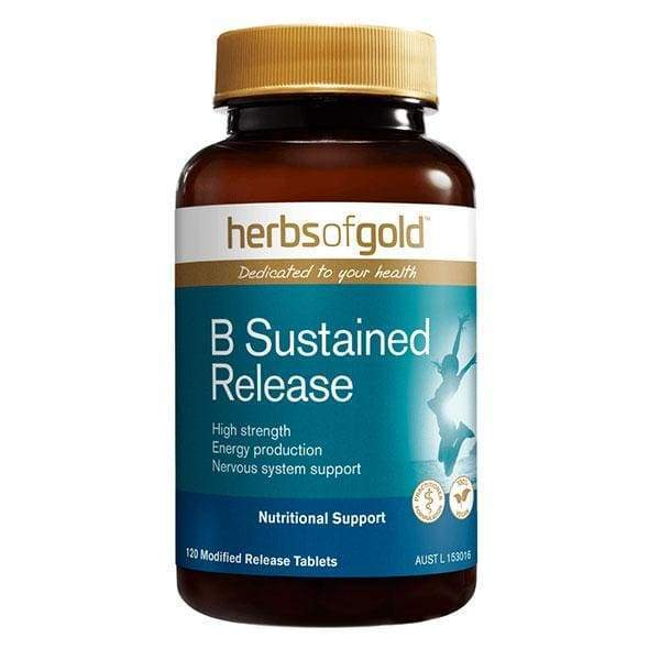 Herbs of Gold VITAMINS Herbs of Gold B Sustained Release 60T