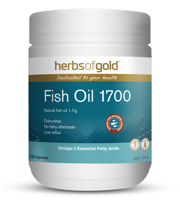 Herbs of Gold VITAMINS Herbs of Gold Fish Oil 1700 200C