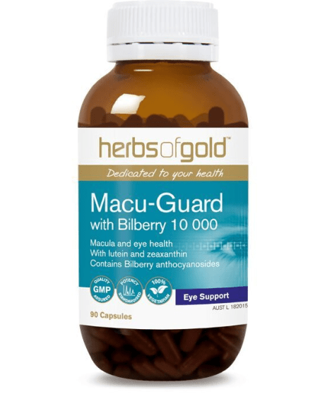 Herbs of Gold VITAMINS Herbs of Gold Macu-Guard with Bilberry 10 000 60T