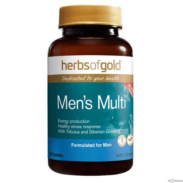 Herbs of Gold VITAMINS Herbs of Gold Mens Multi + 60T