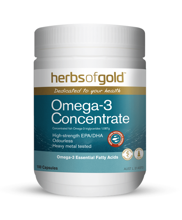 Herbs of Gold VITAMINS Herbs of Gold Omega-3 Concentrate 100C
