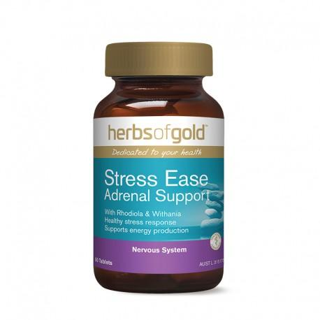 Herbs of Gold VITAMINS Herbs of Gold Stress-Ease Adrenal Support 60T